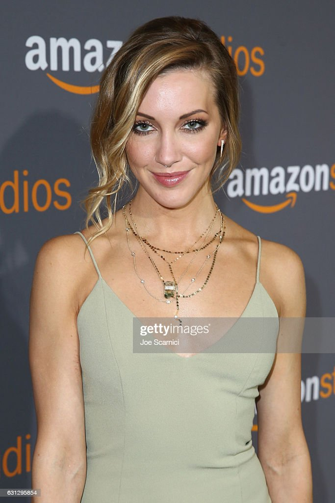 Actress Katie Cassidy attends Amazon Studios Golden Globes Celebration at The Beverly Hilton Hotel on January 8, 2017 in Beverly Hills, California.