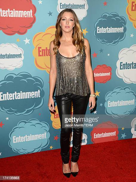 Actress Katie Cassidy attends Entertainment Weekly's Annual ComicCon Celebration at Float at Hard Rock Hotel San Diego on July 20 2013 in San Diego...