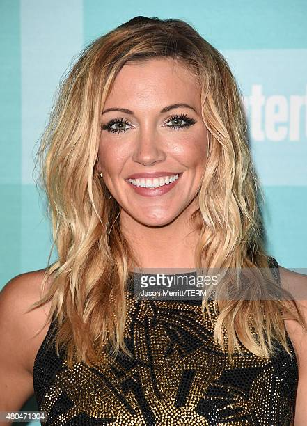 Actress Katie Cassidy attends Entertainment Weekly's ComicCon 2015 Party sponsored by HBO Honda Bud Light Lime and Bud Light Ritas at FLOAT at The...