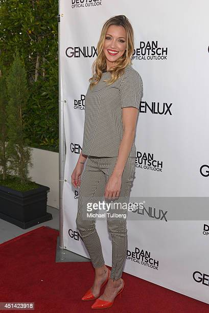 Actress Katie Cassidy attends Genlux Magazine's launch party for their new issue at Luxe Hotel on June 28, 2014 in Los Angeles, California.