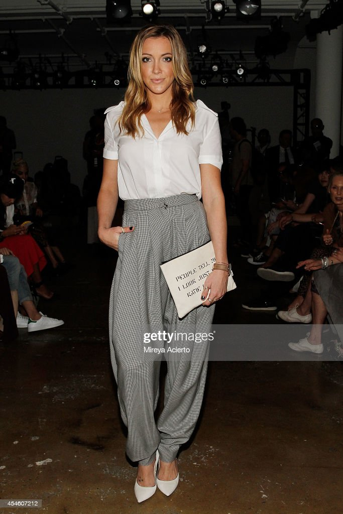 Actress Katie Cassidy attends Houghton runway show during MADE Fashion Week Spring 2015 at Milk Studios on September 4, 2014 in New York City.