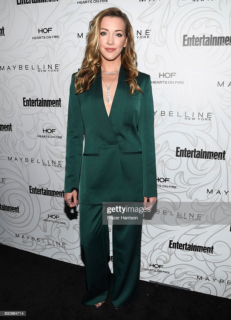 Actress Katie Cassidy attends the Entertainment Weekly Celebration of SAG Award Nominees sponsored by Maybelline New York at Chateau Marmont on January 28, 2017 in Los Angeles, California.