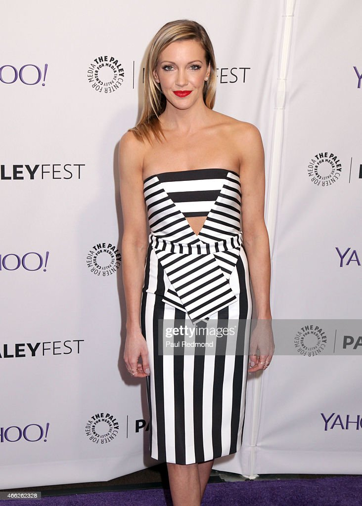 Actress Katie Cassidy attends The Paley Center For Media's 32nd Annual PALEYFEST LA - 'Arrow' And 'The Flash' at Dolby Theatre on March 14, 2015 in Hollywood, California.