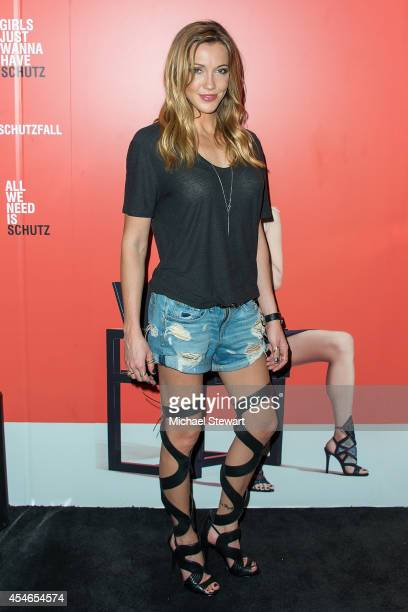 Actress Katie Cassidy attends the SCHUTZ AW14 Campaign Celebration at Schutz on September 4 2014 in New York City