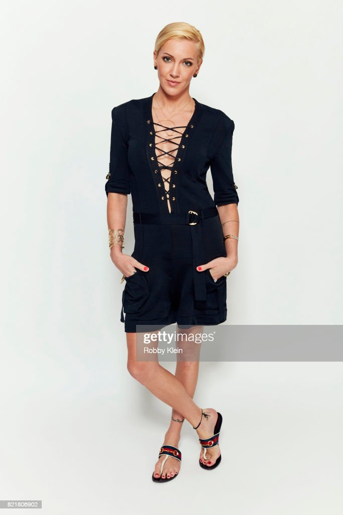 Actress Katie Cassidy from CW's 'Arrow' poses for a portrait during Comic-Con 2017 at Hard Rock Hotel San Diego on July 22, 2017 in San Diego, California