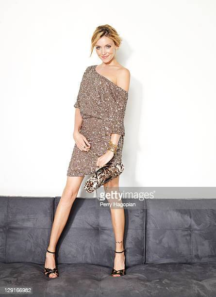 Actress Katie Cassidy is photographed for Us Weekly Magazine on June 1 2011 in New York City Published Image