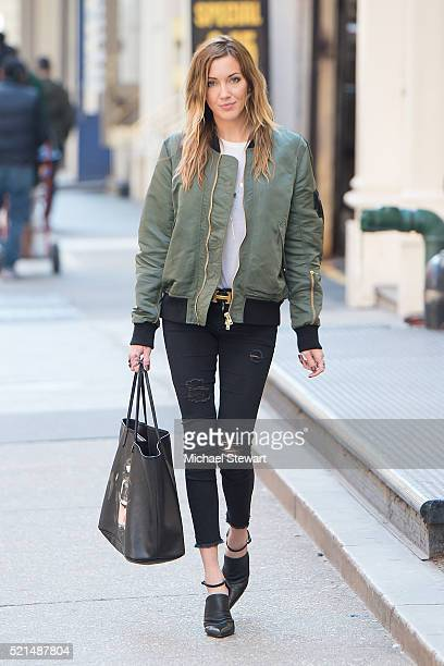 Actress Katie Cassidy is seen in SoHo on April 15 2016 in New York City