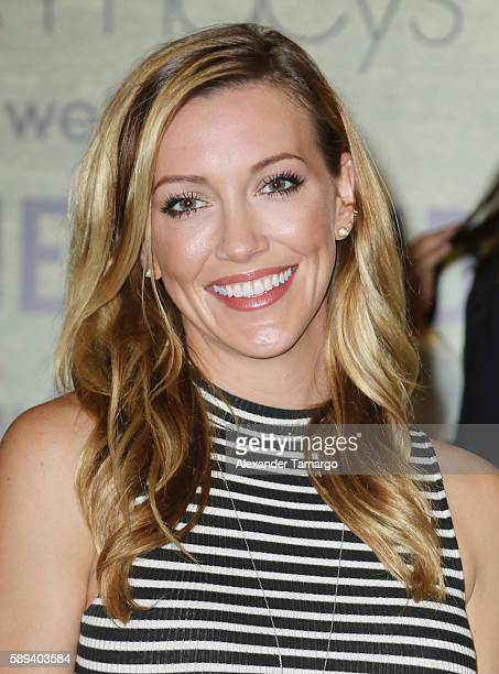 Actress Katie Cassidy meets with fans at Macy's Dadeland on August 13 2016 in Miami Florida