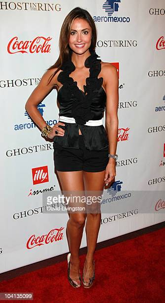 Actress Katie Cleary attends Coca Cola's 200th Anniversary of Mexico's Independence Celebration at W Hollywood on September 15 2010 in Hollywood...