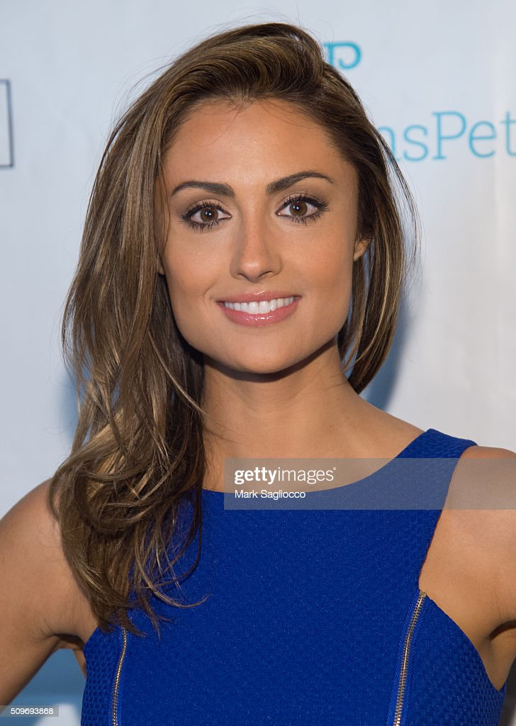 Actress Katie Cleary attends the 12th Annual NY Pet Fashion Show at Hotel Pennsylvania on February 11, 2016 in New York City.