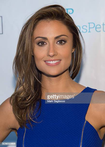 Actress Katie Cleary attends the 12th Annual NY Pet Fashion Show at Hotel Pennsylvania on February 11 2016 in New York City