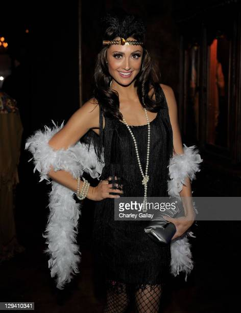 Actress Katie Cleary attends the 5th Annual Art of Elysium Halloween Ball at 1616 Restaurant Club on October 30 2010 in Los Angeles California
