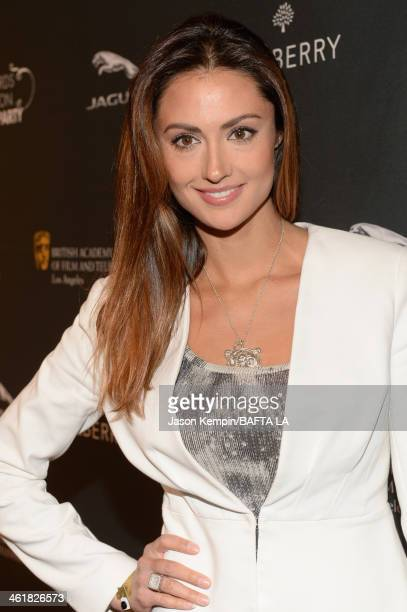Actress Katie Cleary attends the BAFTA LA 2014 Awards Season Tea Party at the Four Seasons Hotel Los Angeles at Beverly Hills on January 11 2014 in...