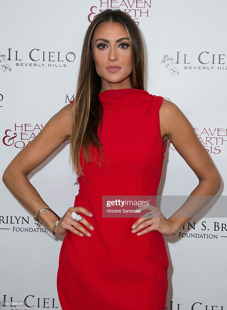 Actress Katie Cleary attends the Heaven and Earth Oasis Charity fundraiser at Il Cielo on October 11, 2014 in Beverly Hills, California.