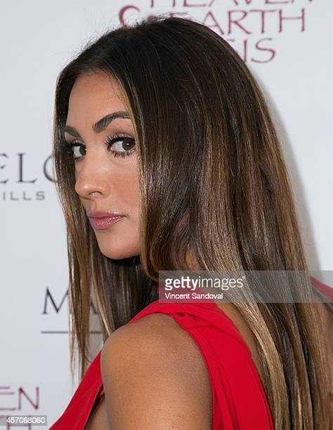 Actress Katie Cleary attends the Heaven and Earth Oasis Charity fundraiser at Il Cielo on October 11 2014 in Beverly Hills California