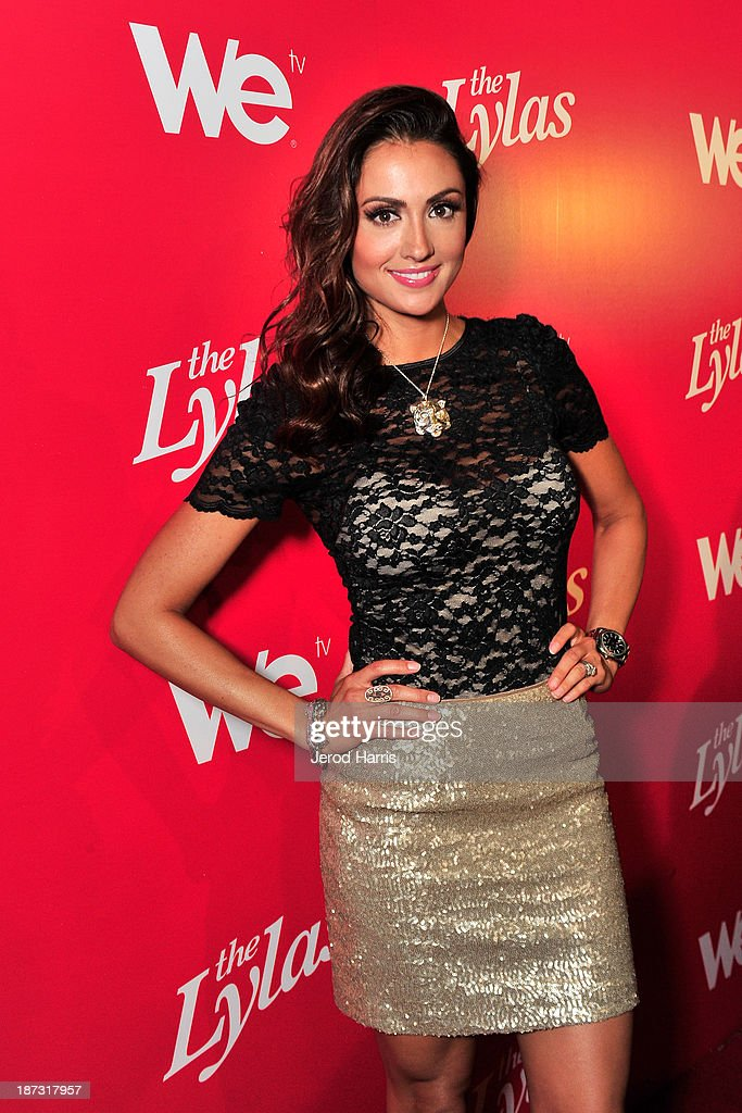 Actress Katie Cleary is seen at WE tv's Celebration for The Premiere Of It's Newest Series 'The LYLAS' at the Warwick on November 7, 2013 in Hollywood, California.