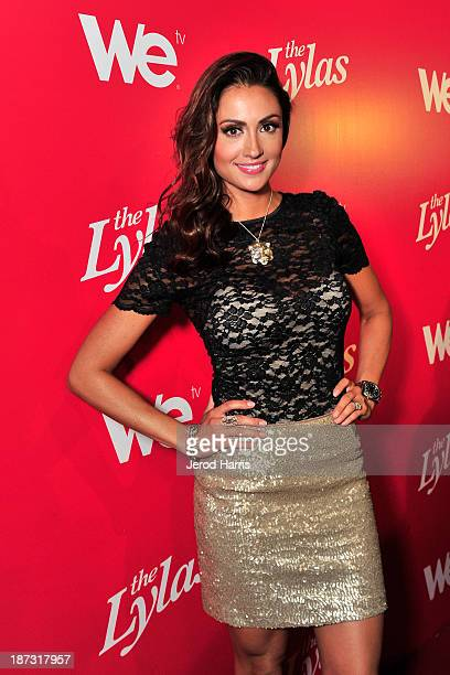 Actress Katie Cleary is seen at WE tv's Celebration for The Premiere Of It's Newest Series The LYLAS at the Warwick on November 7 2013 in Hollywood...