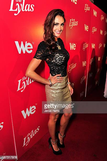 Actress Katie Cleary is seen at WE tv's Celebration for The Premiere Of It's Newest Series 'The LYLAS' at the Warwick on November 7 2013 in Hollywood...