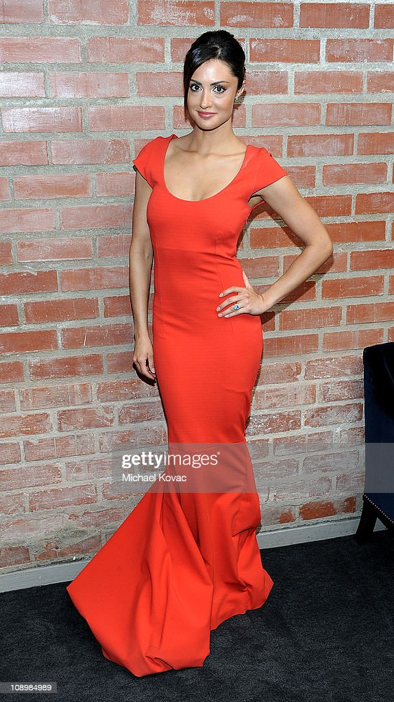 Actress Katie Cleary poses during a private photo session at p3r publicity offices on February 9, 2011 in Beverly Hills, California.