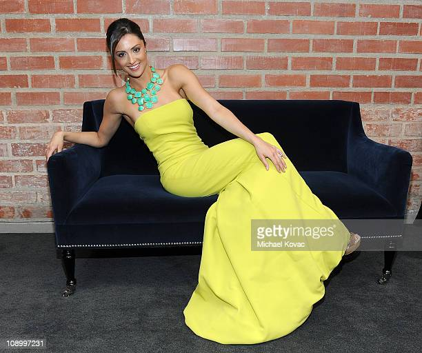 Actress Katie Cleary poses during a private photo session at p3r publicity offices on February 9 2011 in Beverly Hills California