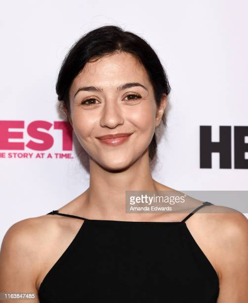 Actress Katie Findlay arrives at the 2019 Outfest Los Angeles LGBTQ Film Festival Breakthrough Centerpiece Screening of Straight Up at the TCL...