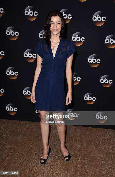 Actress Katie Findley attends the Disney/ABC Television Group 2014 Television Critics Association Summer Press Tour at The Beverly Hilton Hotel on...