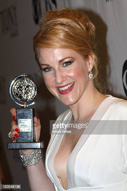Actress Katie Finneran attends the 64th Annual Tony Awards at The Sports Club/LA on June 13 2010 in New York City
