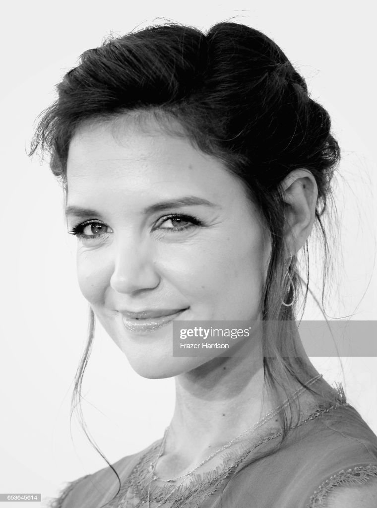 Actress Katie Holmes arrives at the Premiere of Reelz's 'The Kennedys After Camelot' at The Paley Center for Media on March 15, 2017 in Beverly Hills, California.