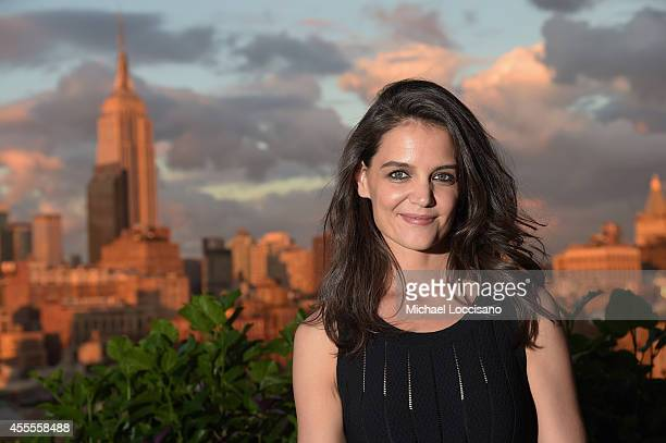 Actress Katie Holmes attends DuJour Magazine's Jason Binn and Furla celebration of Katie Holmes presented by InList on September 16 2014 in New York...