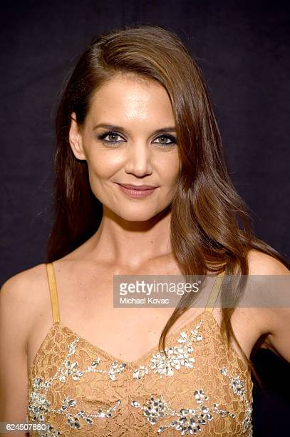 Actress Katie Holmes attends Moet Chandon Celebrates The 2016 Young Women's Honors at Marina del Rey Marriott on November 19 2016 in Marina del Rey...