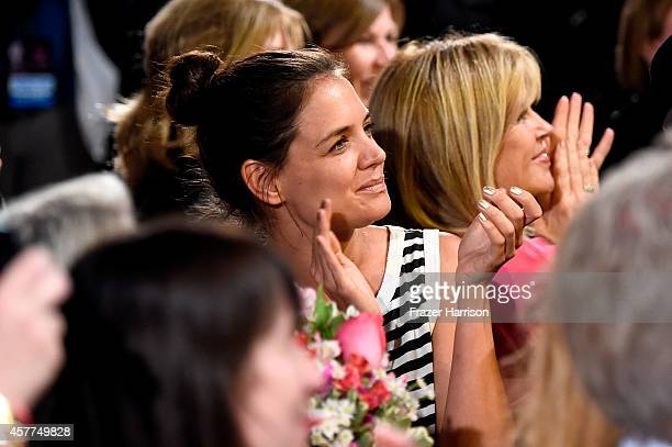 Actress Katie Holmes attends Power of Pink 2014 Benefiting the Cancer Prevention Program at Saint John's Health Center at House of Blues Sunset Strip...