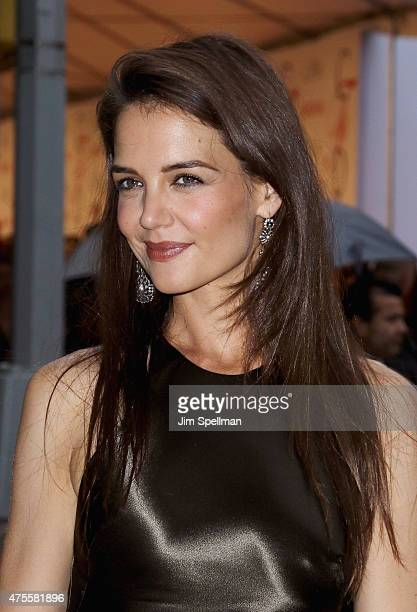 Actress Katie Holmes attends the 2015 CFDA Fashion Awards at Alice Tully Hall at Lincoln Center on June 1 2015 in New York City