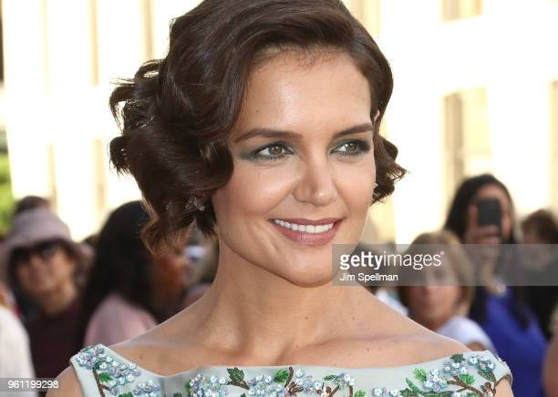 Actress Katie Holmes attends the 2018 American Ballet Theatre Spring Gala at The Metropolitan Opera House on May 21 2018 in New York City