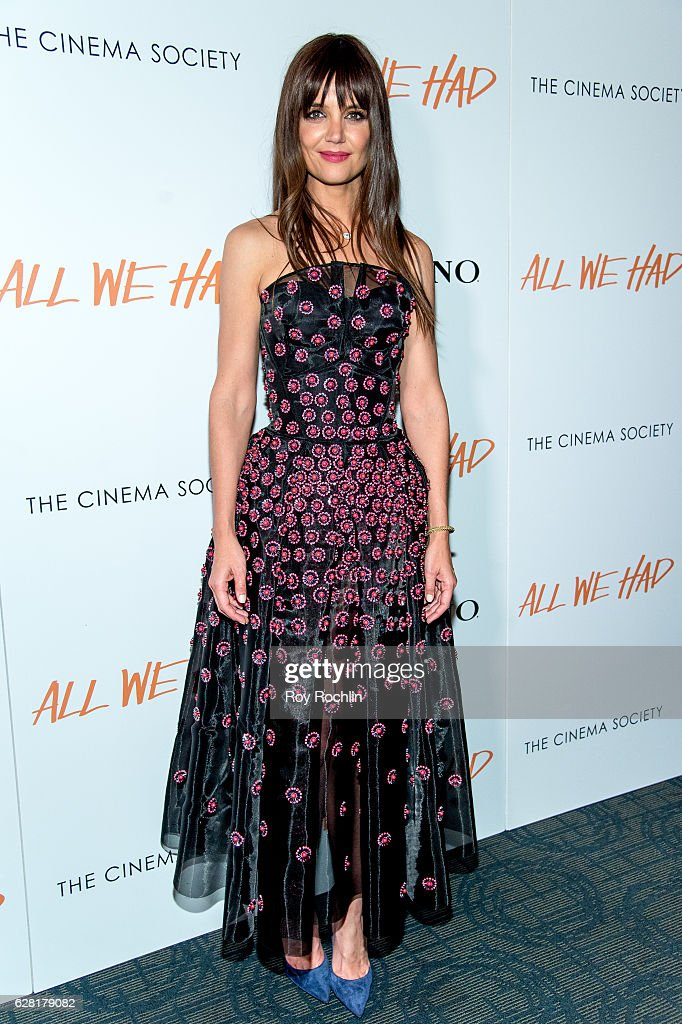 "The Cinema Society & Ruffino Host A screening of ""All We Had"""