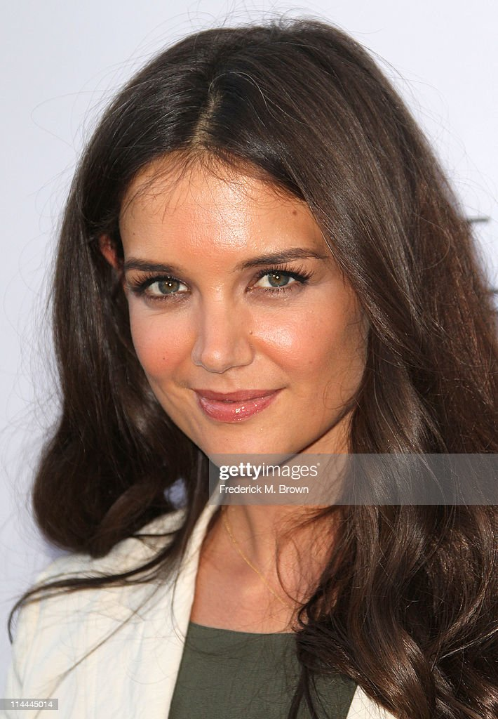 Actress Katie Holmes attends the Opening Night of 'Beauty Culture' at The Annenberg Space For Photography on May 19, 2011 in Century City, California.