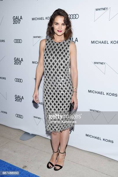 46754cf58be5 Actress Katie Holmes attends the Whitney Museum s annual Spring Gala and  Studio Party 2017 sponsored by