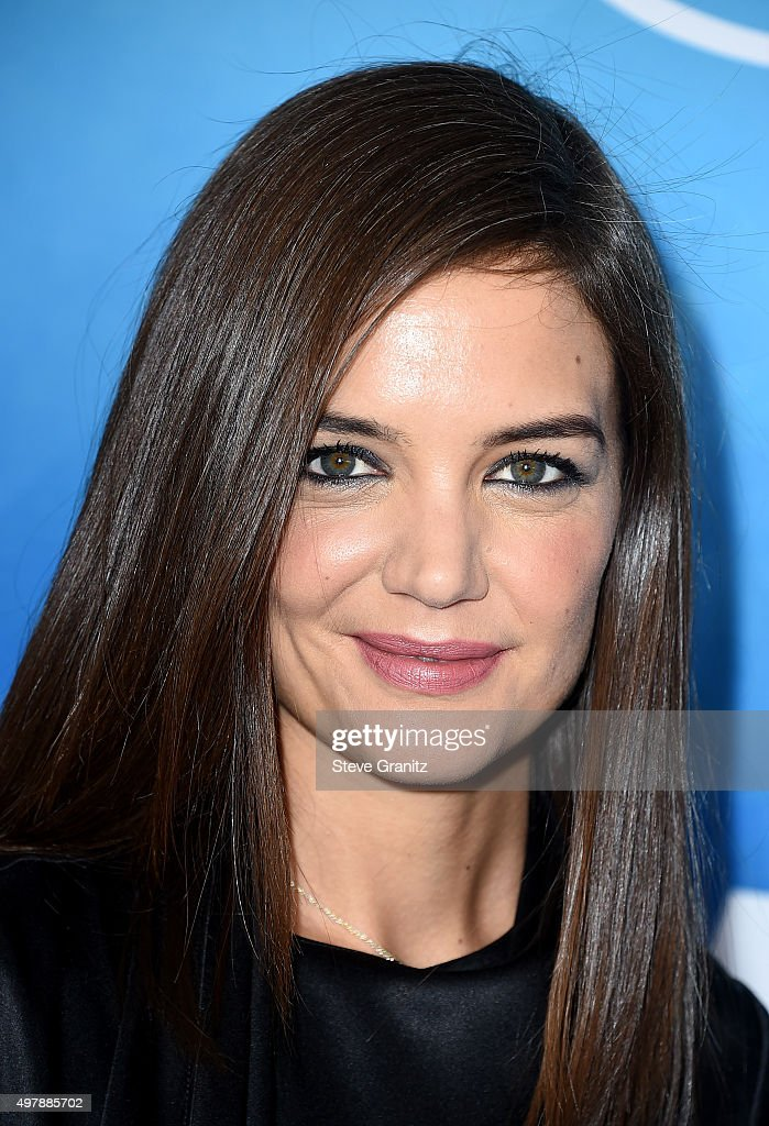 Actress Katie Holmes attends the WWD And Variety inaugural stylemakers' event at Smashbox Studios on November 19, 2015 in Culver City, California.