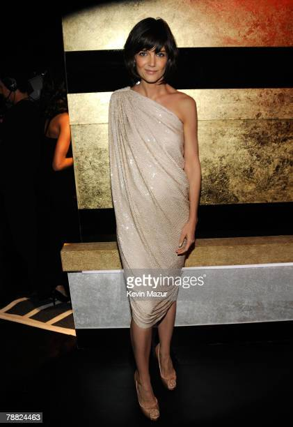 Actress Katie Holmes inside at the 13th ANNUAL CRITICS' CHOICE AWARDS at the Santa Monica Civic Auditorium on January 7, 2008 in Santa Monica,...
