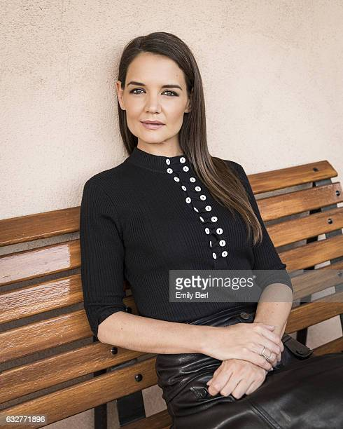 Actress Katie Holmes is photographed for New York Times on November 15 2016 in Los Angeles California