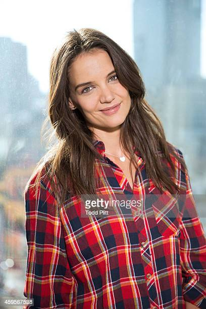 Actress Katie Holmes is photographed for USA Today on November 11 2014 in New York City