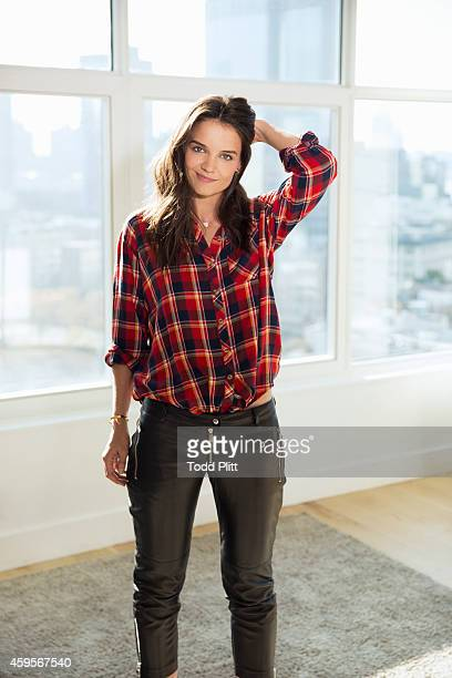 Actress Katie Holmes is photographed for USA Today on November 11 2014 in New York City PUBLISHED IMAGE