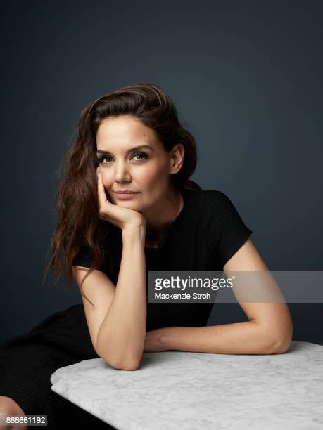 Actress Katie Holmes is photographed for Vanity Fair Magazine on November 29 2016 at Art Basel in Miami Florida PUBLISHED IMAGE