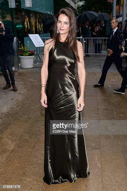 Actress Katie Holmes is seen on June 1 2015 at the 2015 CFDA Fashion Awards in New York City