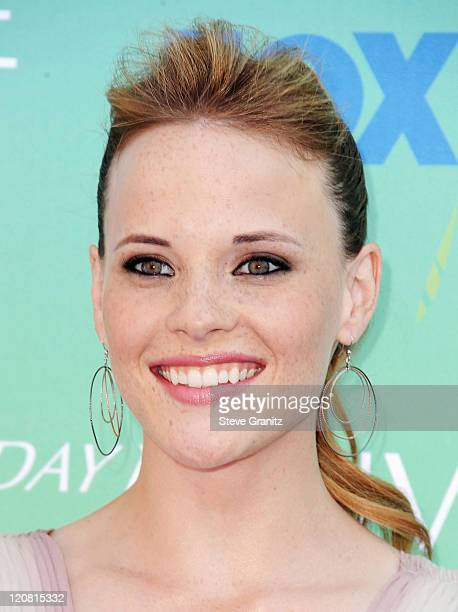 Actress Katie Leclerc arrives at the 2011 Teen Choice Awards held at the Gibson Amphitheatre on August 7 2011 in Universal City California