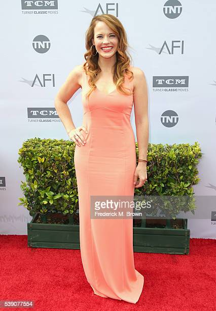 Actress Katie Leclerc arrives at the American Film Institute's 44th Life Achievement Award Gala Tribute to John Williams at Dolby Theatre on June 9,...
