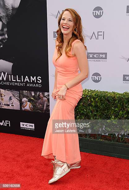 Actress Katie Leclerc attends the 44th AFI Life Achievement Awards gala tribute at Dolby Theatre on June 9 2016 in Hollywood California