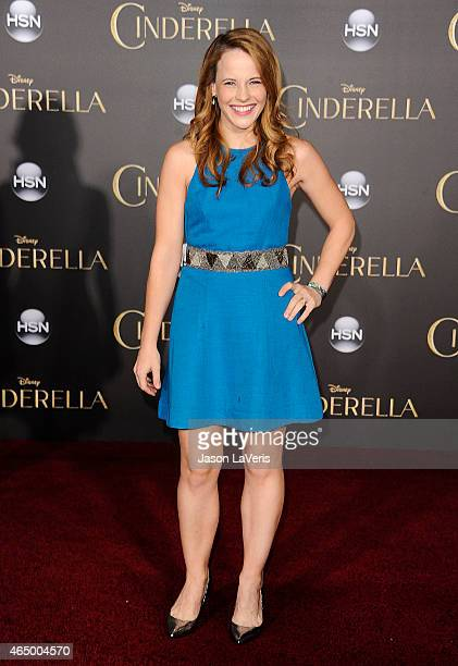 Actress Katie Leclerc attends the premiere of Cinderella at the El Capitan Theatre on March 1 2015 in Hollywood California
