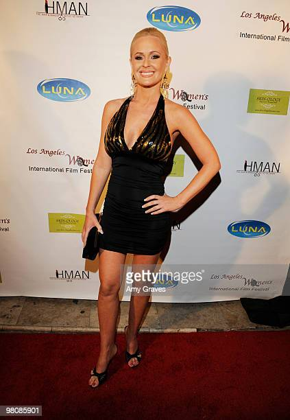 Actress Katie Lohmann attends the Los Angeles Women's International Film Festival Opening Night Gala at Libertine on March 26 2010 in Los Angeles...