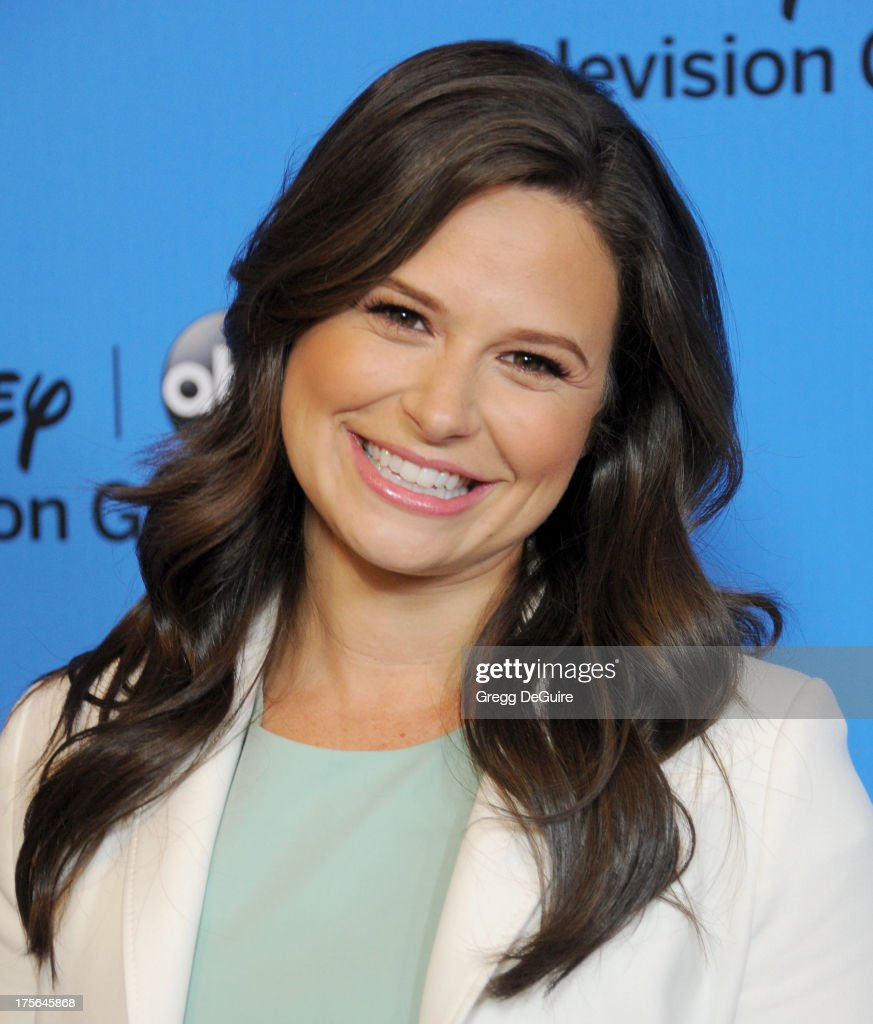 Actress Katie Lowes arrives at the 2013 Disney/ABC Television Critics Association's summer press tour party at The Beverly Hilton Hotel on August 4, 2013 in Beverly Hills, California.