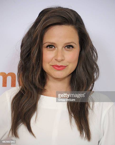 Actress Katie Lowes arrives at the Disney ABC Television Group's 2015 TCA Summer Press Tour on August 4 2015 in Beverly Hills California